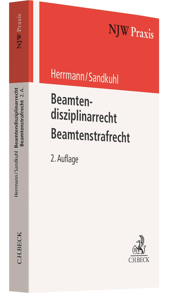 Beamtenstrafrecht - Beamtendisziplinarrecht | Herrmann / Sandkuhl | 2. Auflage, 2019 | Buch (Cover)