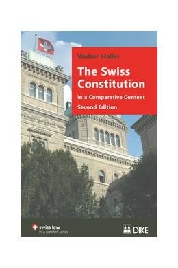 Abbildung von Haller | The Swiss Constitution in a Comparative Context | 2. Auflage | 2016 | beck-shop.de