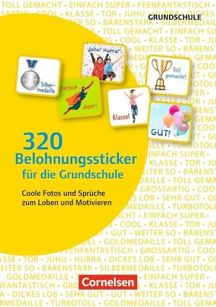 Abbildung von 320 Belohnungssticker für die Grundschule | 2017
