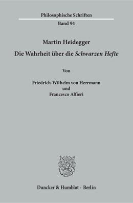 Abbildung von Herrmann / Alfieri | Martin Heidegger | 1. Auflage | 2017 | beck-shop.de