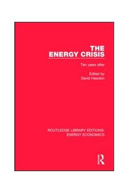 Abbildung von Hawdon   The Energy Crisis   1. Auflage   2017   beck-shop.de