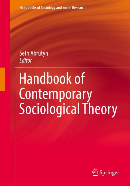 Handbook of Contemporary Sociological Theory | Abrutyn, 2017 | Buch (Cover)