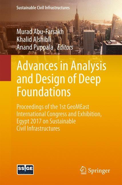 Abbildung von Abu-Farsakh / Alshibli / Puppala | Advances in Analysis and Design of Deep Foundations | 2017