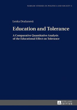 Abbildung von Drazanova | Education and Tolerance | 2017 | A Comparative Quantitative Ana...