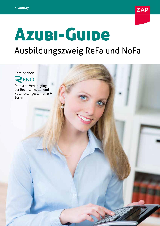 Azubi-Guide | RENO (Hrsg.) | 3. Auflage, 2017 | Buch (Cover)