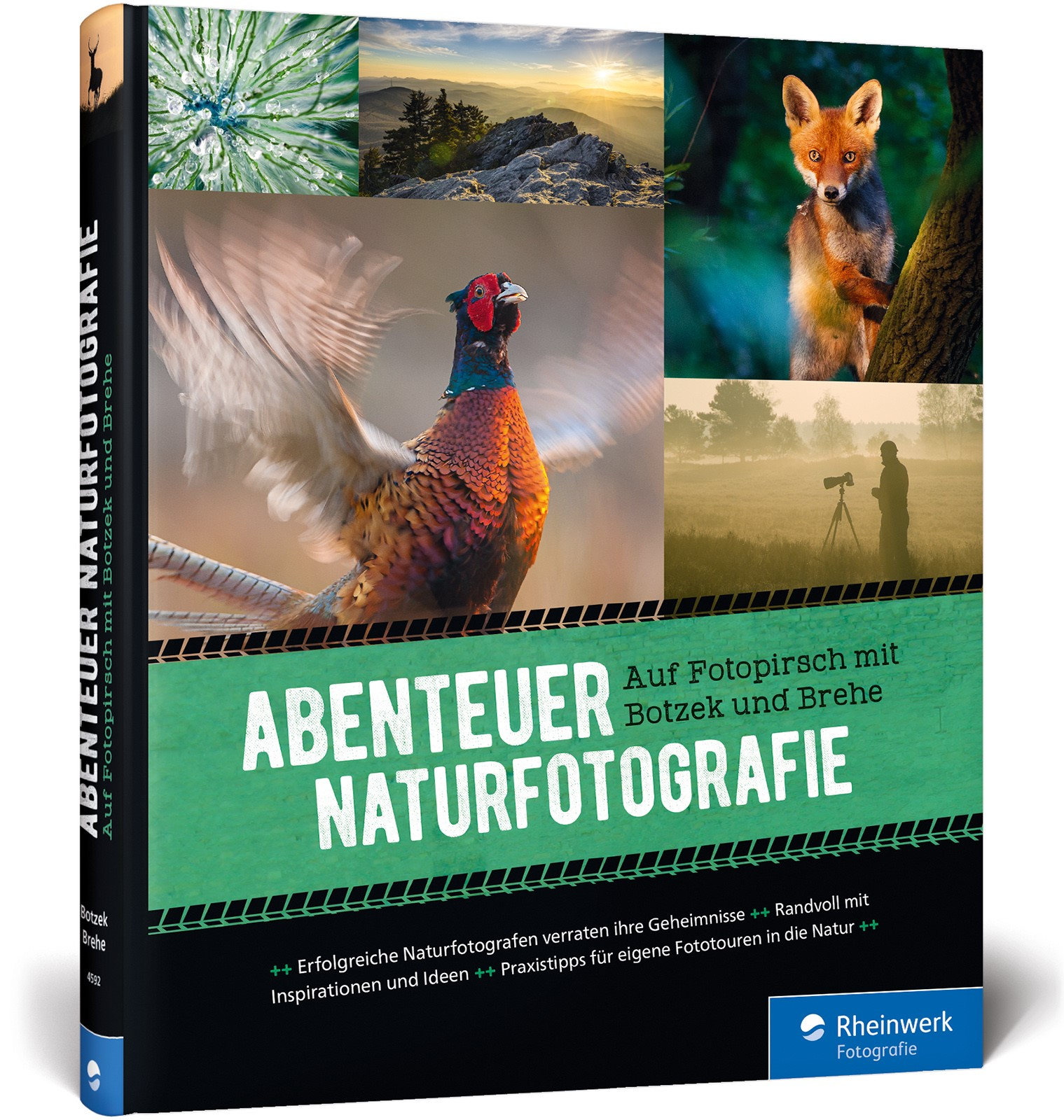 Abenteuer Naturfotografie | Botzek / Brehe, 2018 | Buch (Cover)