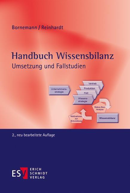 Handbuch Wissensbilanz | Bornemann / Reinhardt | 2., neu bearbeitete Auflage., 2017 | Buch (Cover)