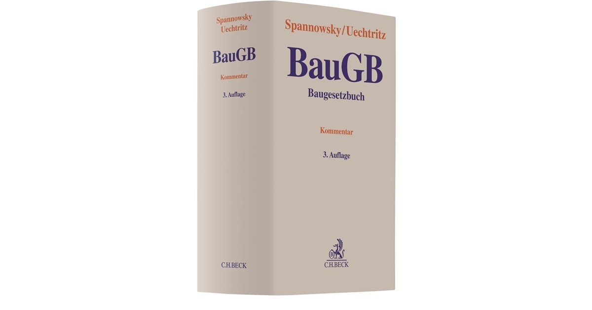 baugesetzbuch baugb spannowsky uechtritz 3 auflage. Black Bedroom Furniture Sets. Home Design Ideas
