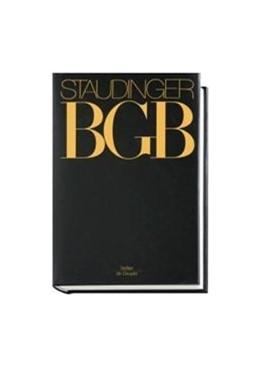 Abbildung von von Staudinger | J. von Staudingers Kommentar zum Bürgerlichen Gesetzbuch: Staudinger BGB - EGBGB