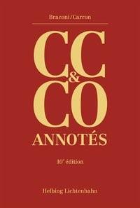 Code civil suisse et Code des obligations annotés: CC & CO annotés | Braconi / Carron | 10. Auflage | Buch (Cover)