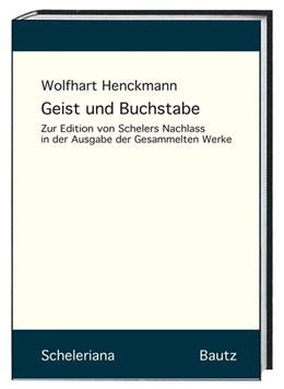 Abbildung von Henckmann   Geist und Buchstabe   1. Auflage   2017   beck-shop.de