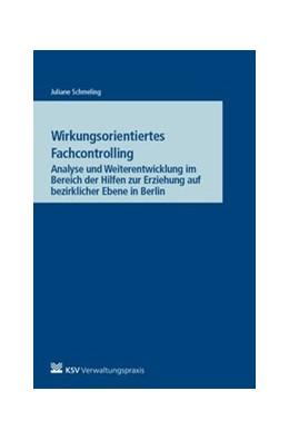 Abbildung von Schmeling | Wirkungsorientiertes Fachcontrolling | 1. Auflage | 2017 | Analyse und Weiterentwicklung ...