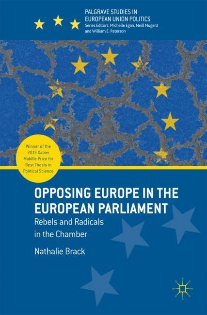 Opposing Europe in the European Parliament | Brack, 2017 | Buch (Cover)