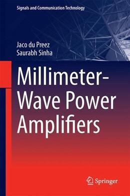 Abbildung von Preez / Sinha   Millimeter-Wave Power Amplifiers   2017