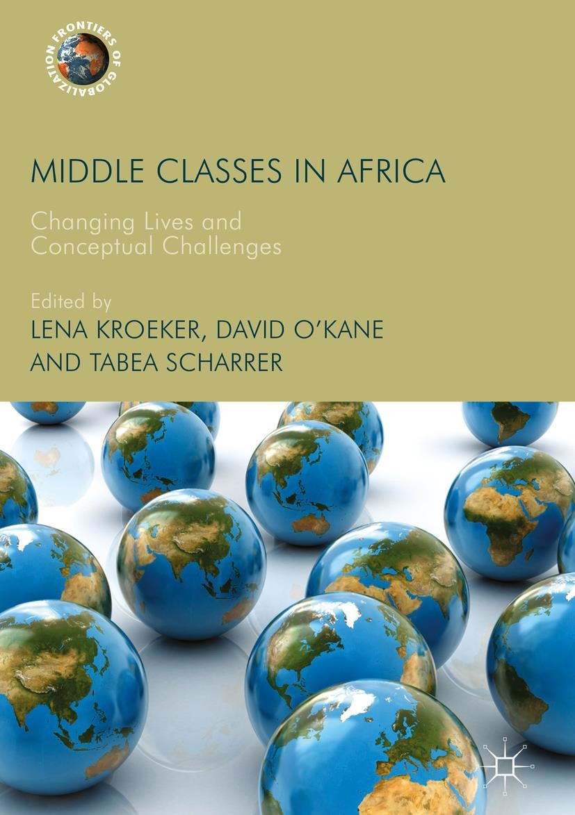 Middle Classes in Africa | O'Kane / Kroeker / Scharrer, 2017 | Buch (Cover)
