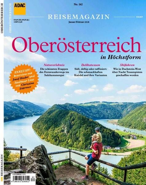 ADAC Reisemagazin Oberösterreich, 2017 | Buch (Cover)