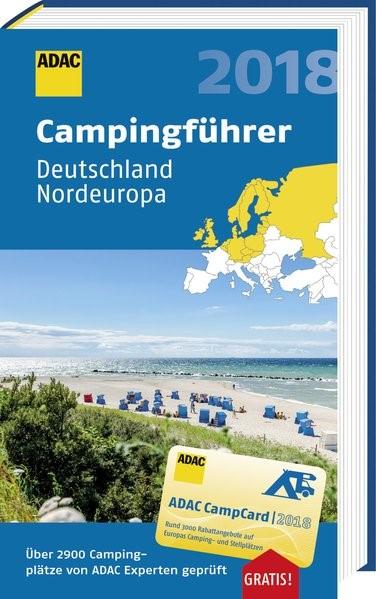 ADAC Campingführer Deutschland und Nordeuropa 2018, 2018 | Buch (Cover)