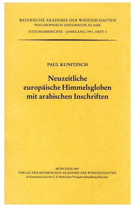 Cover: , Neuzeitliche europäische Himmelsgloben mit arabischen Inschriften