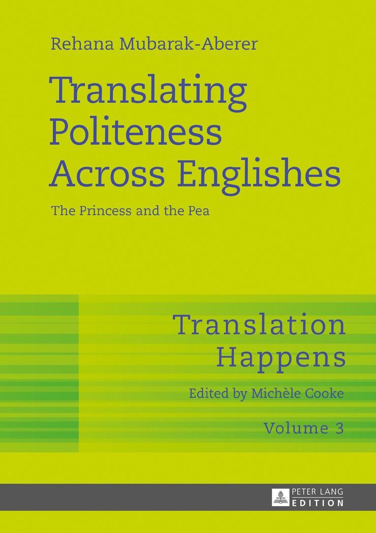 Translating Politeness Across Englishes | Mubarak-Aberer / Cooke, 2017 | Buch (Cover)