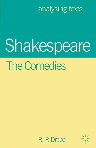 Abbildung von Draper | Shakespeare: The Comedies | 2000 | 1999