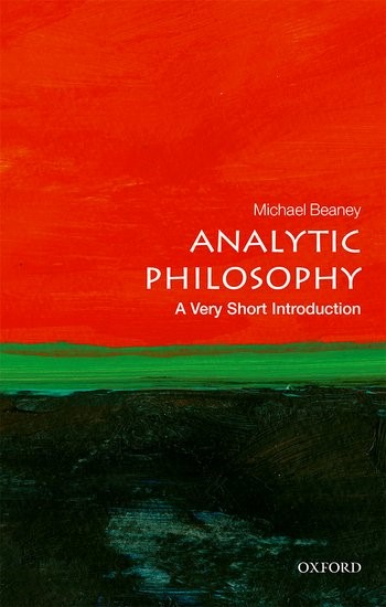 Analytic Philosophy: A Very Short introduction | Beaney, 2017 | Buch (Cover)