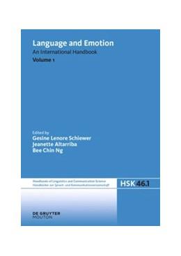 Abbildung von Schiewer / Altarriba / Ng | Language and Emotion | 2021 | An International Handbook | 46/1