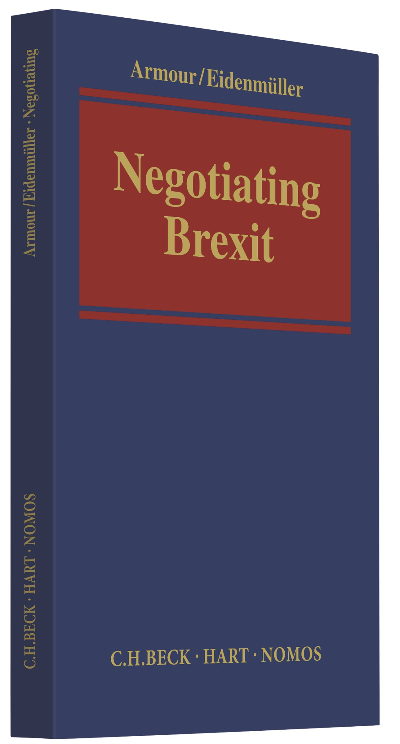 Negotiating Brexit | Armour / Eidenmüller, 2017 | Buch (Cover)