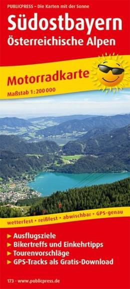 Abbildung von Motorradkarte Südostbayern - Österreichische Alpen 1 : 200 000 | 4. Auflage | 2017 | Ausflugsziele, Bikertreffs und...