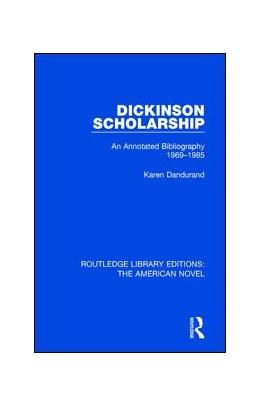 Abbildung von Dandurand | Dickinson Scholarship | 1. Auflage | 2017 | 4 | beck-shop.de