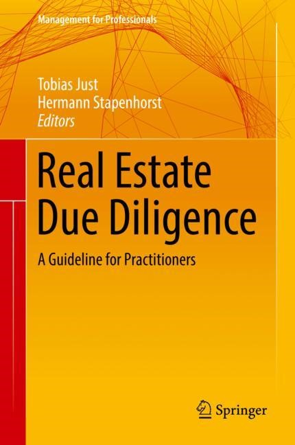 Real Estate Due Diligence | Just / Stapenhorst | 1st ed. 2018, 2017 | Buch (Cover)