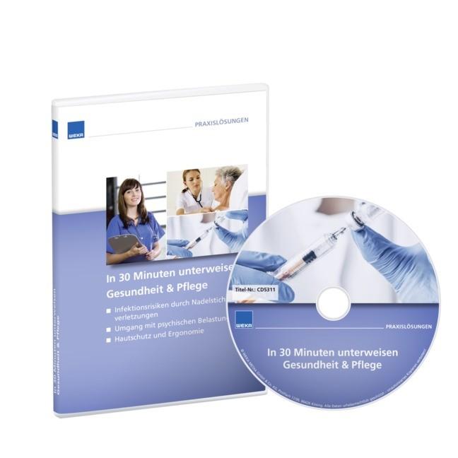 In 30 Minuten unterweisen Gesundheit & Pflege, 2017 (Cover)