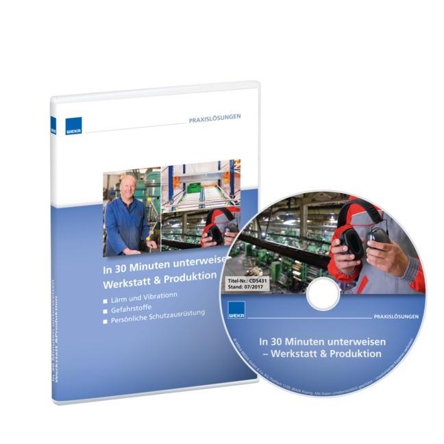 In 30 Minuten unterweisen Werkstatt & Produktion, 2017 (Cover)