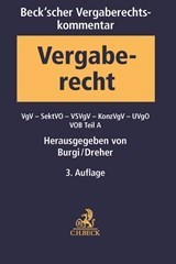 Beck'scher VOB- und Vergaberechtskommentar - Vierbändige Ausgabe, Band 2: VgV, SektVO, VSVgV, KonzVgV, VOB Teil A | 3. Auflage, 2018 | Buch (Cover)