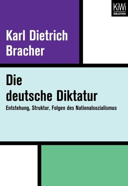 Die Deutsche Diktatur | Bracher, 2017 | Buch (Cover)