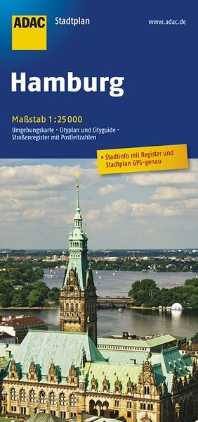 Abbildung von ADAC Stadtplan Hamburg 1 : 25 000 | 13. Auflage | 2017