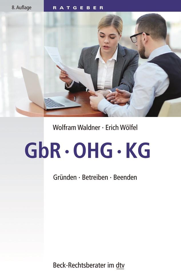 GbR, OHG, KG | Waldner / Wölfel | 8., neu bearbeitete Auflage, 2018 | Buch (Cover)