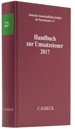 Abbildung von Handbuch zur Umsatzsteuer 2017: USt 2017 | 2018