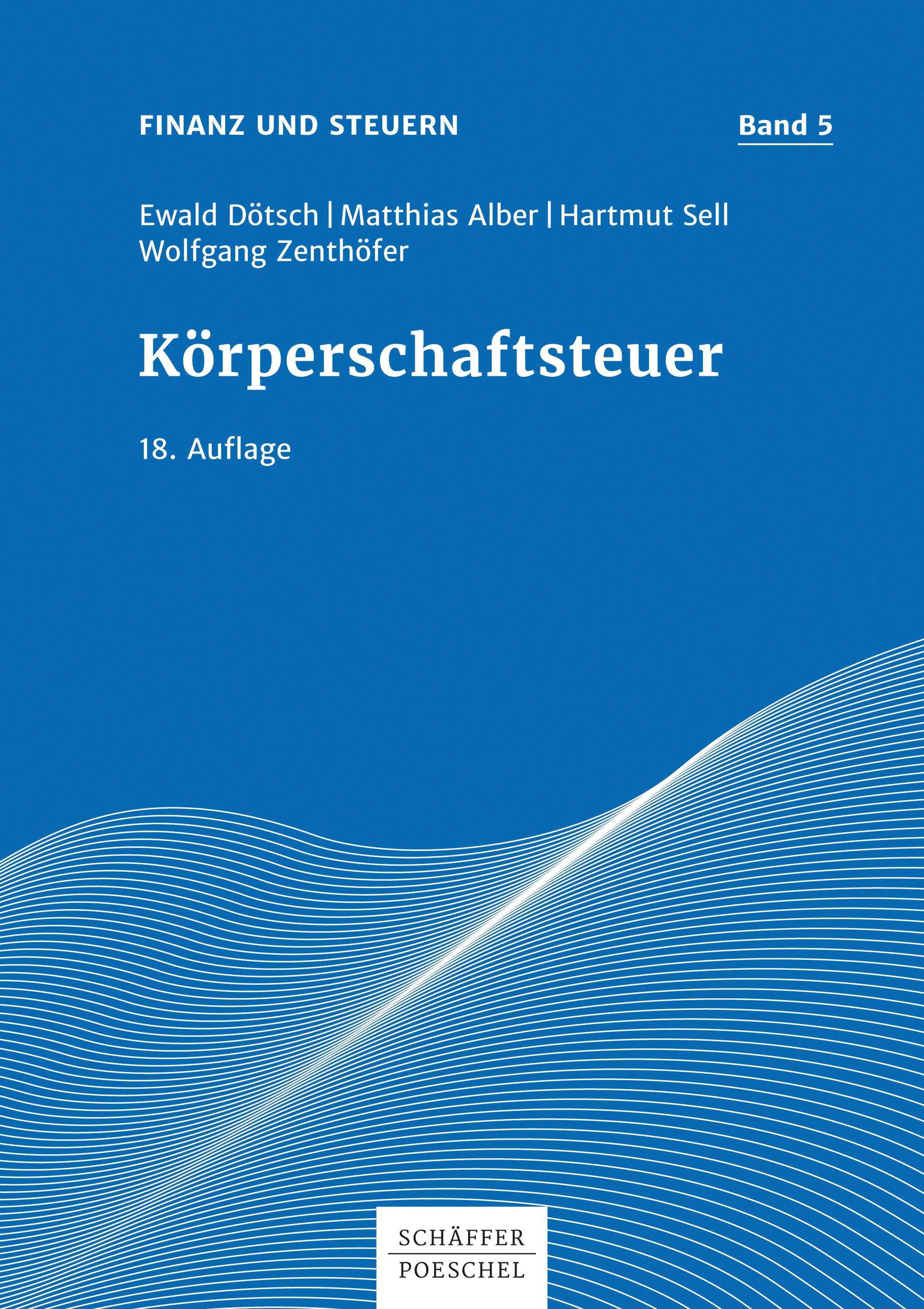 Abbildung von Dötsch / Alber / Sell   Körperschaftsteuer   18. Auflage 2017   2017
