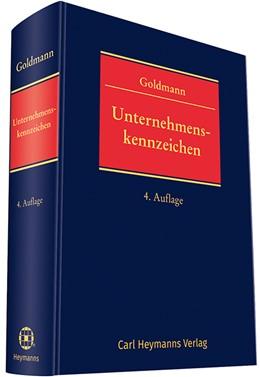 Abbildung von Goldmann | Unternehmenskennzeichen | 4. Auflage | 2019