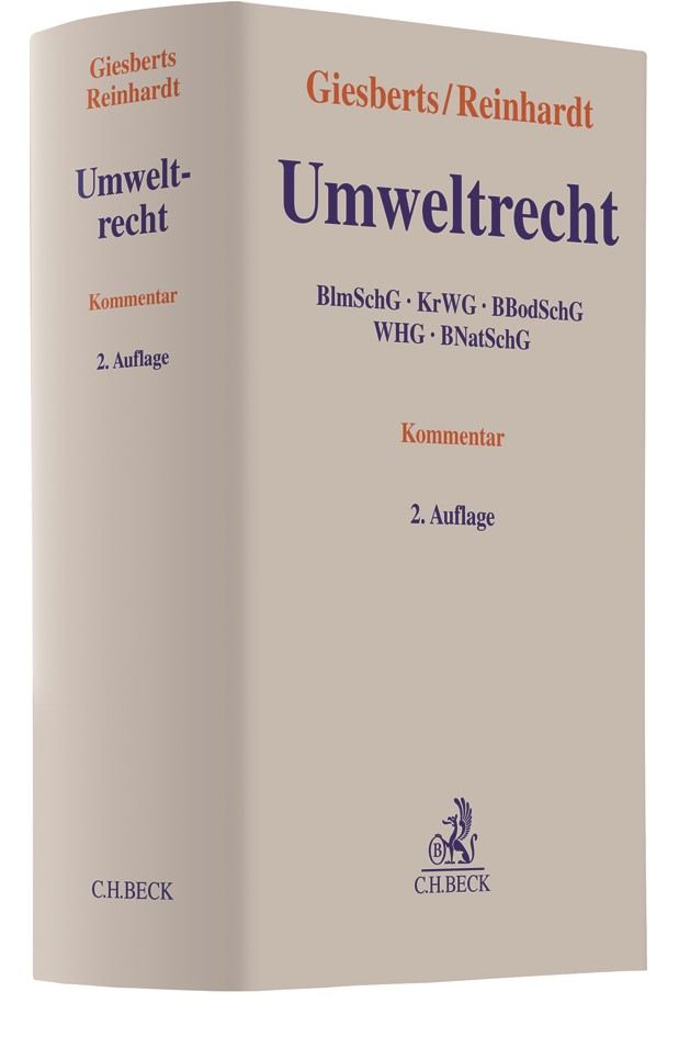 Umweltrecht | Giesberts / Reinhardt | 2. Auflage, 2018 | Buch (Cover)