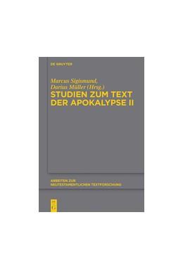 Abbildung von Sigismund / Müller | Studien zum Text der Apokalypse II | 1. Auflage | 2017 | 50 | beck-shop.de