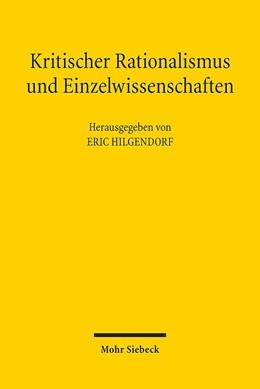 Abbildung von Hilgendorf | Kritischer Rationalismus und Einzelwissenschaften | 1. Auflage | 2017 | beck-shop.de