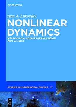 Abbildung von Lukovsky | Nonlinear Dynamics | 1. Auflage | 2017 | beck-shop.de