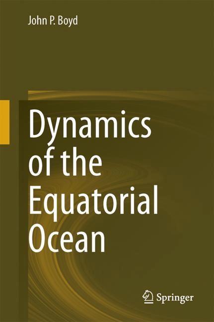 Dynamics of the Equatorial Ocean | Boyd, 2017 | Buch (Cover)