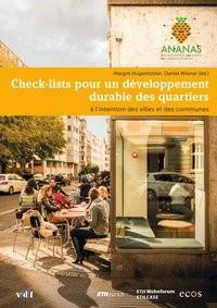 Check-lists pour un développement durable des quartiers   / Hugentobler, 2017   Buch (Cover)