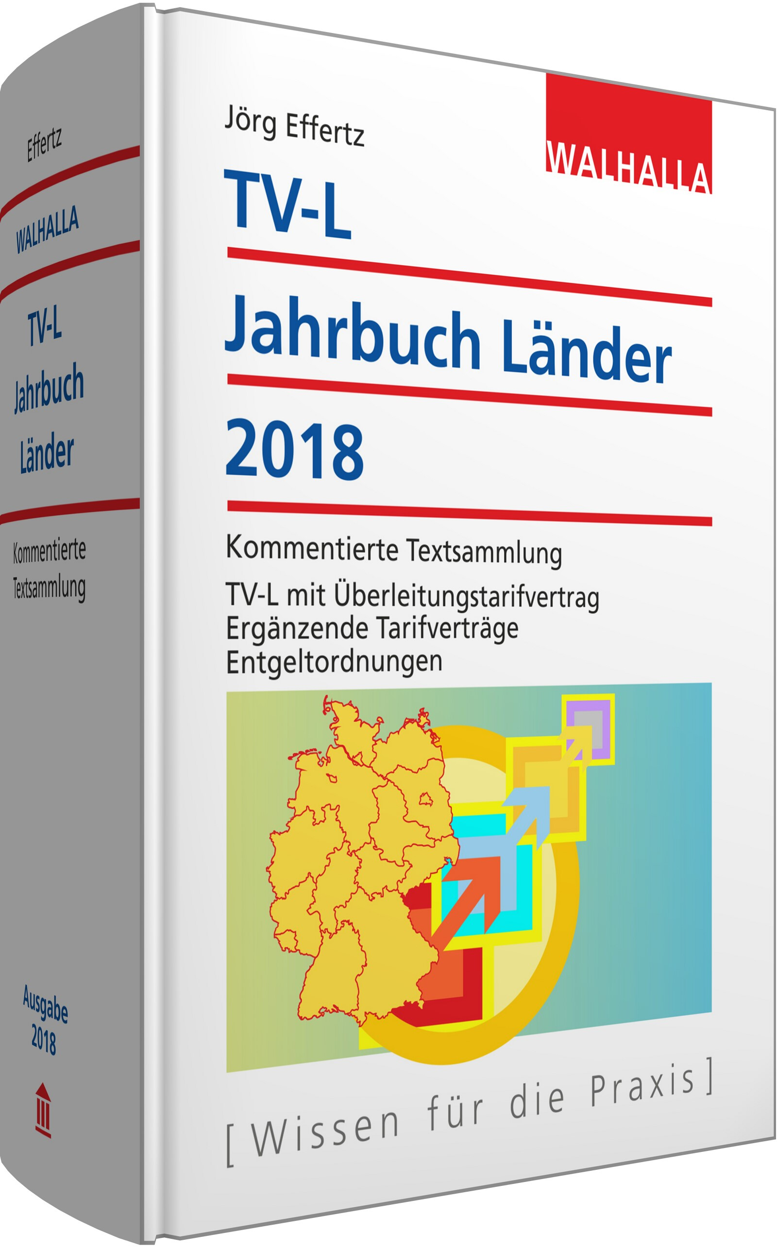 TV-L Jahrbuch Länder 2018 | Effertz, 2017 | Buch (Cover)