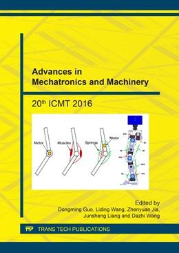 Abbildung von Guo / Wang | Advances in Mechatronics and Machinery | 1. Auflage | 2017 | Volume 868 | beck-shop.de