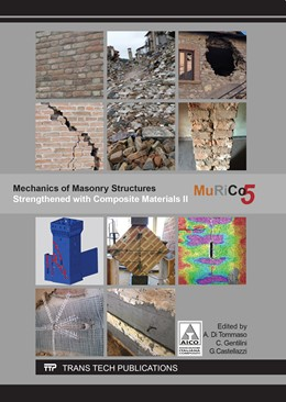 Abbildung von di Tommaso / Gentilini / Castellazzi | Mechanics of Masonry Structures Strengthened with Composite Materials II | 2017 | MuRiCo5 | Volume 747