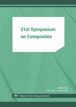 Abbildung von Herrmann   21st Symposium on Composites   2017   Volume 742