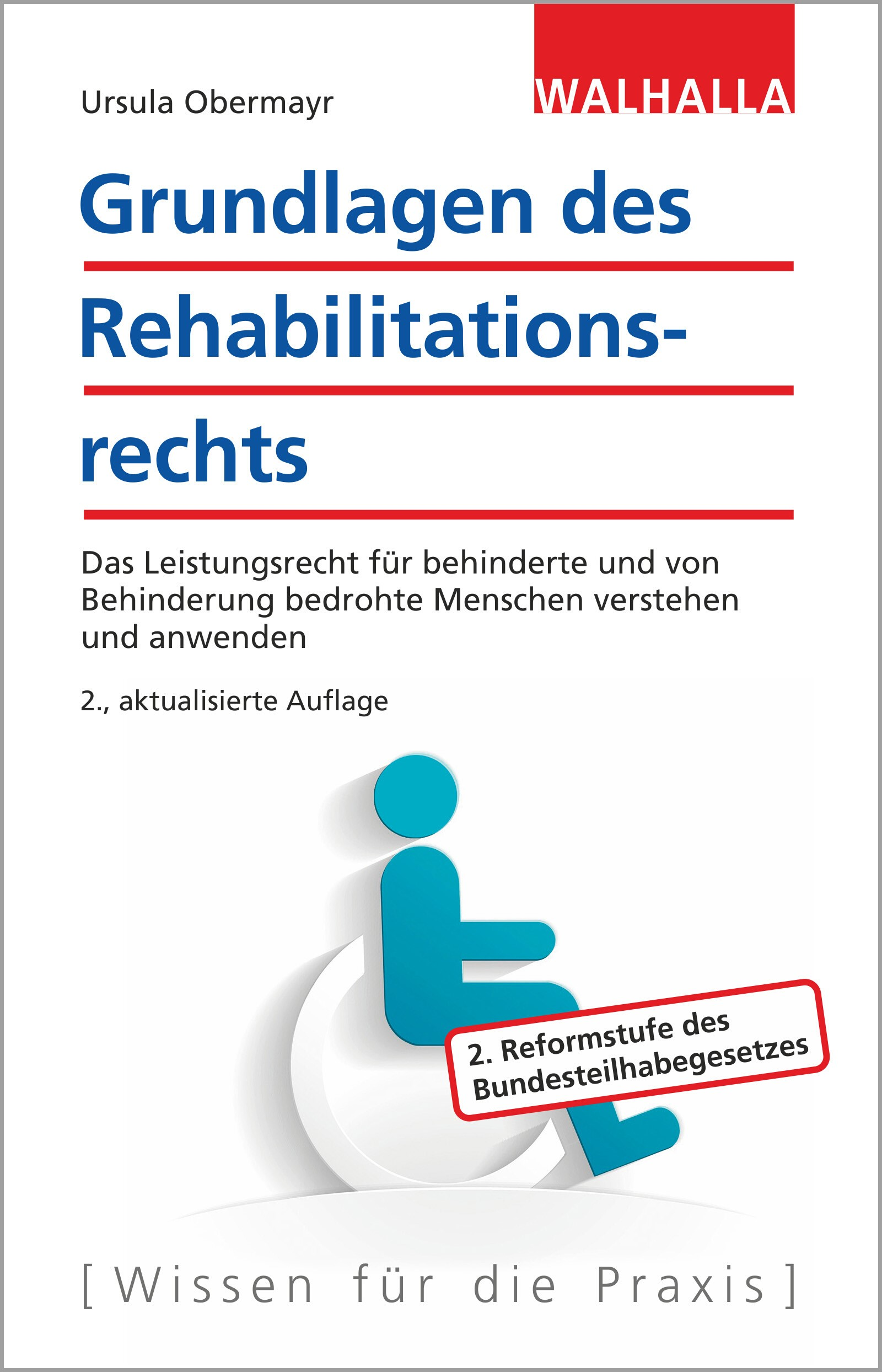 Grundlagen des Rehabilitationsrechts | Obermayr | 2., aktualisierte Auflage, 2017 | Buch (Cover)